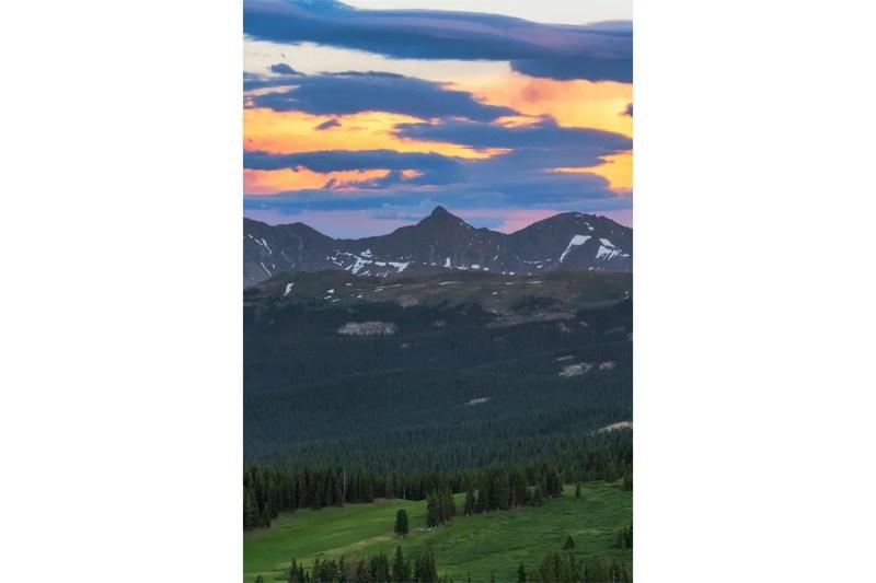 Pacific Peak Mosquito Range Colorado Fine Prints Wall Art