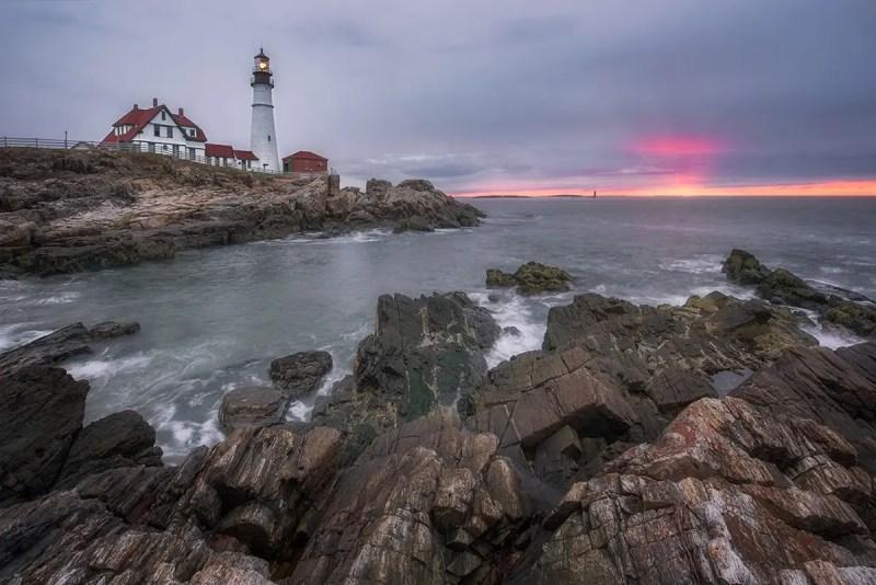Portland Lighthouse Maine Fine Prints Wall Art