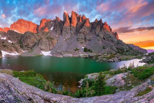 Sky Pond Rocky Mountain National Park Colorado Fine Prints Wall Art