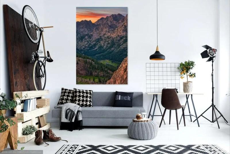 Piney River Valley Colorado Fine Prints Wall Art