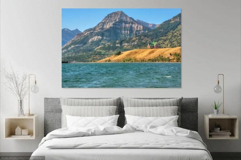 Prince of Wales Hotel Waterton Lakes Alberta Fine Prints Wall Art