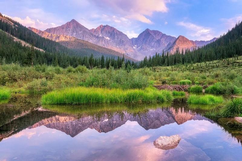 Three Apostles Collegiate Peaks Wilderness Colorado