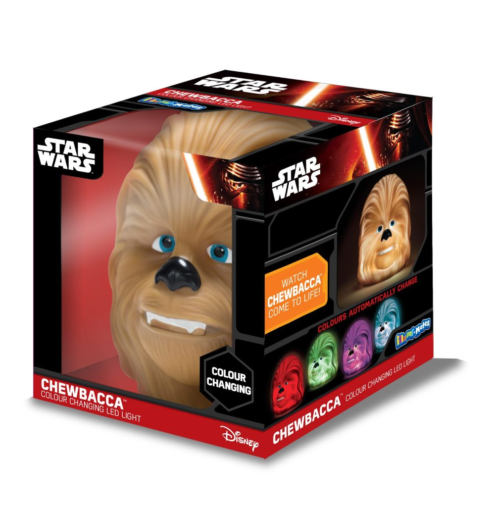 star wars chewbacca immlumimates led light in box