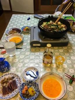 Homemade Sukiyaki & Kanazawa Umeshu