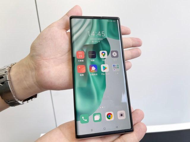 OPPO X 2021 概念手機