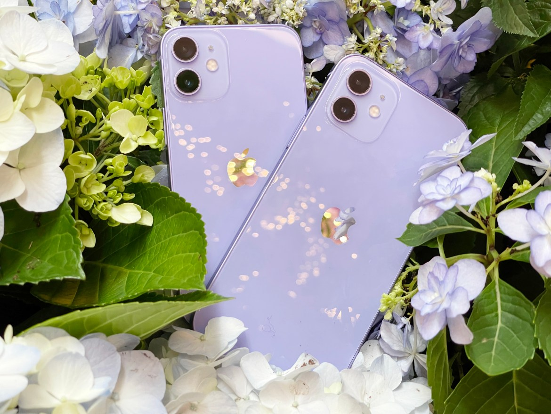 有影片!蘋果iPhone 12與iPhone 12 mini紫色款跟配件一起開箱