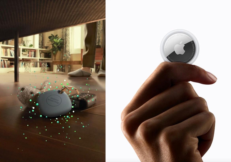 防丟神器的對決!Apple在台推出AirTag  三星引進Galaxy SmartTag+