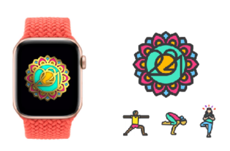 Apple 推出國際瑜伽日一日限定獎章