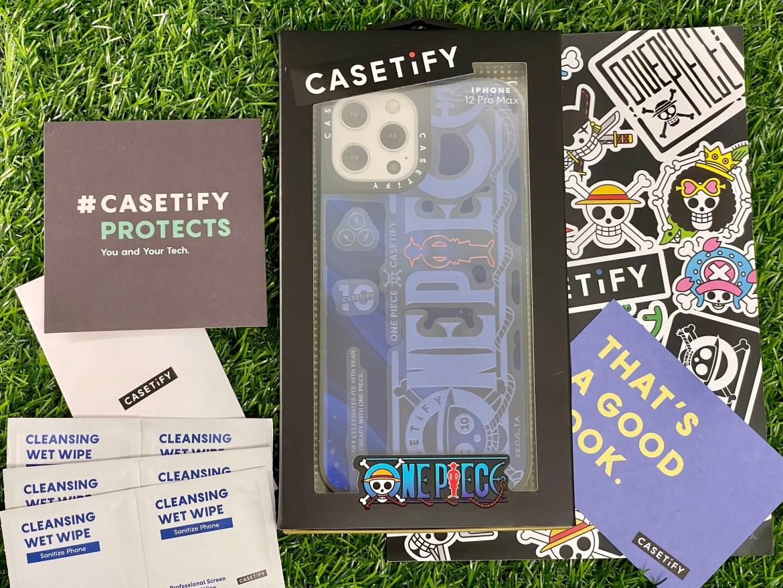 CASETiFY與航海王聯名MagSafe手機保護殼開箱:一手掌握偉大的航道