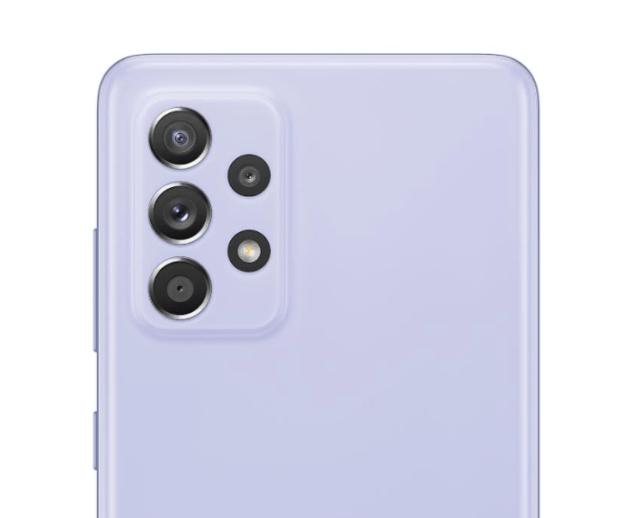 加強版的防水豆豆機Galaxy A52s 5G主鏡頭維持不變