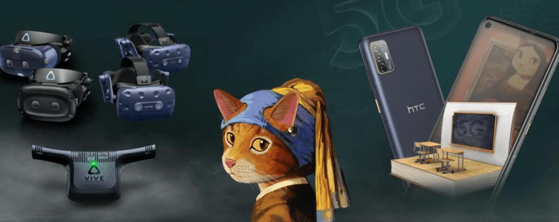 HTC 開學祭!購機加贈貓・美術館周邊商品