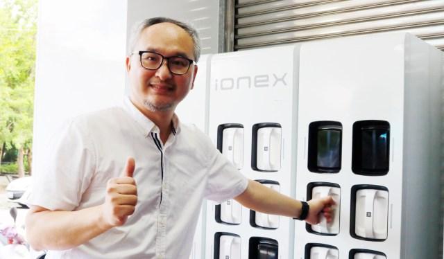 光陽Ionex銷售主管陳明賢