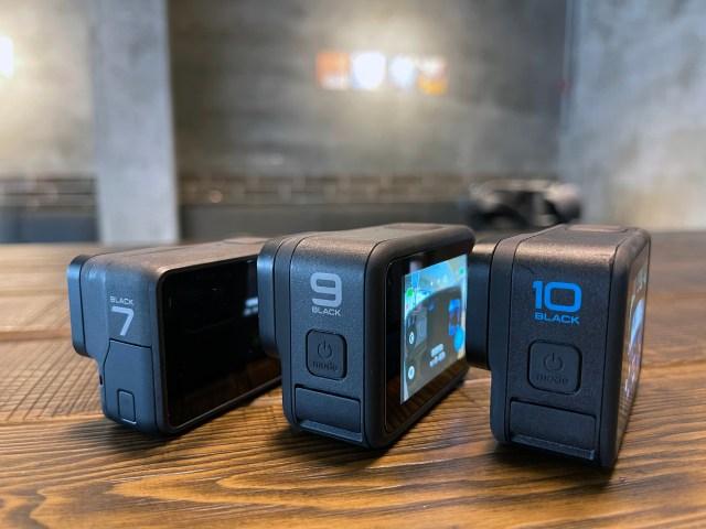 GoPro Hero 7 black 9 black 10 black 比一比-壹哥的科技生活