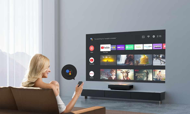 XGIMI AURA最新Android TV 4K 超短焦智慧電視在台首發