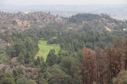 The golf range at Griffith Park