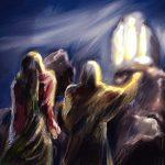 transfiguration of Christ illustration/artwork