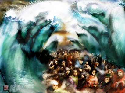 Moses Crossing of the Red Sea story