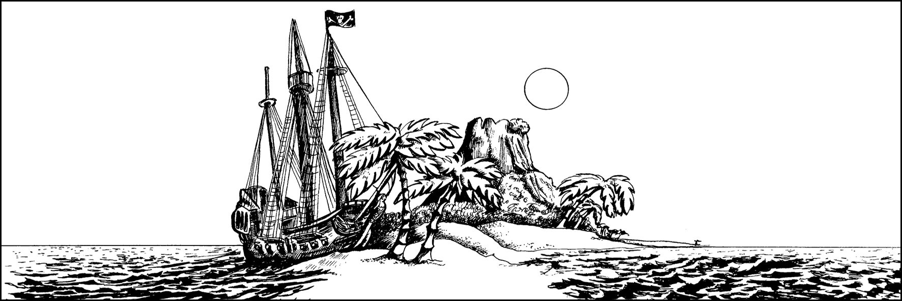pirate ship picture to colour onegraydot