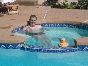 Swimming Again