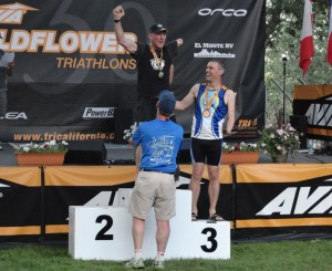 Wildflower Long Course Podium Finish
