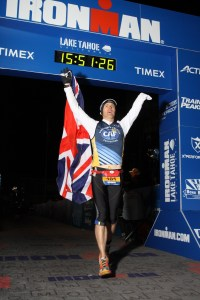 Ironman Lake Tahoe Finish
