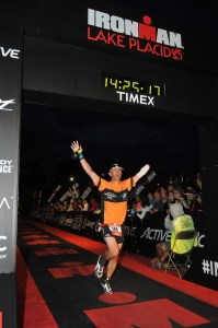 Ironman Lake Placid Finish