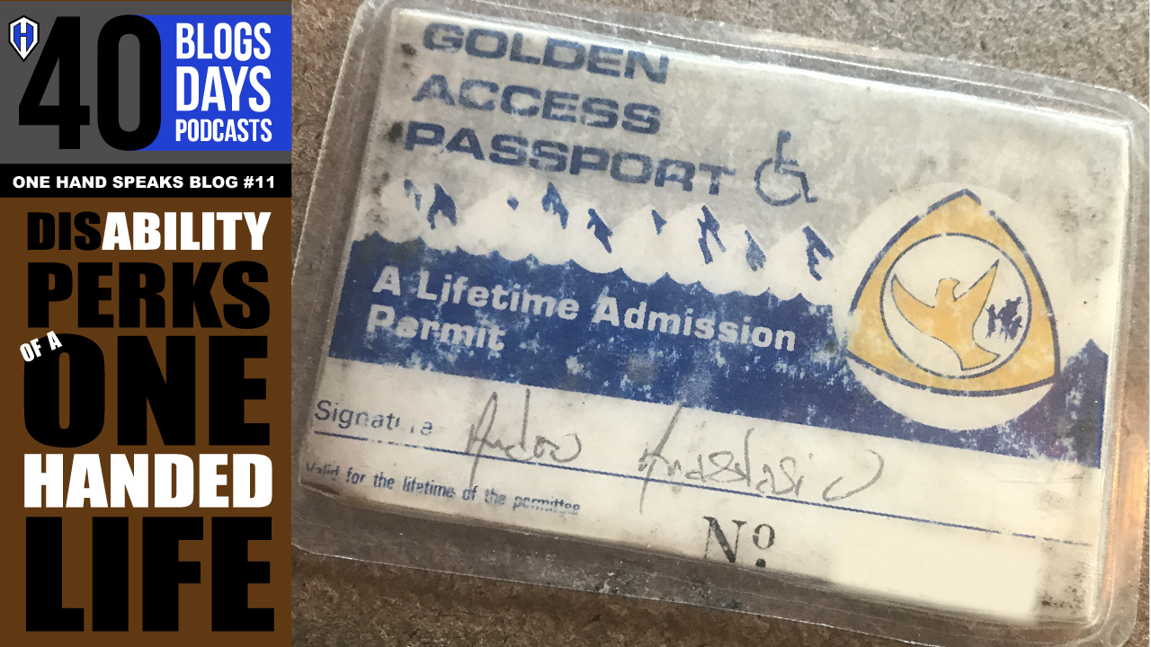 An image of a Golden Access Passport for a lifetime of admission into many Federal Recreational Sites and services.