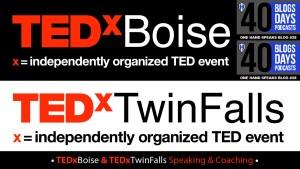 TED Talk, TEDxBoise, TEDxTwinFalls, Speaking, Storytelling, Disability, Buddhism, Coaching