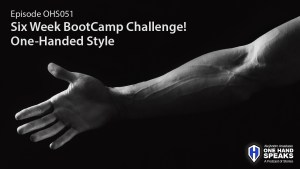 Bootcamp, Crossfit, Gym, Storytelling, Podcast, Disability, One-Hand, Working out, Camp Rhino Boise
