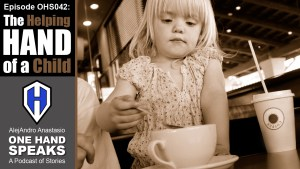 Children, Disability, A Helping Hand, Coffee Shop, Kindness, Podcast, Storytelling
