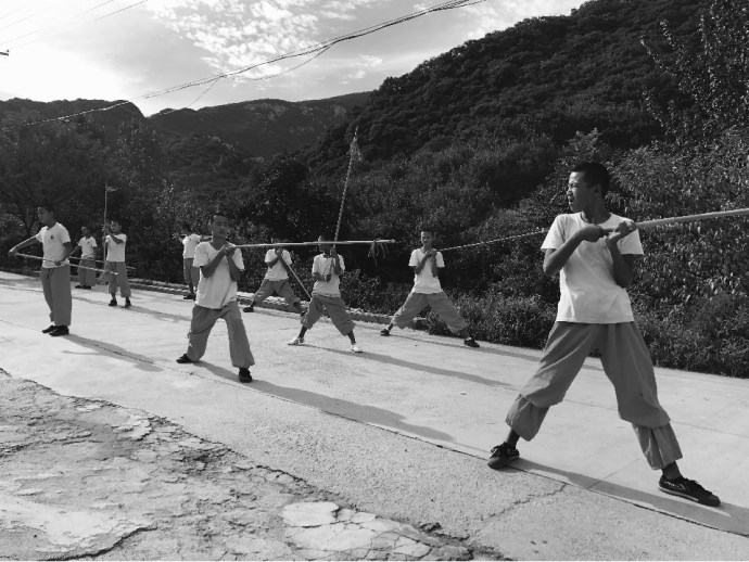Martial art training, Kung Fu, Monk, Bodhidharma, Cave, Shaolin Temple, Buddhism, China, Zen, Shaolin Monastery