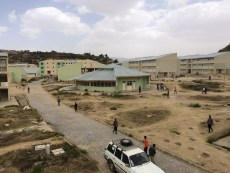 University buildings in Ethiopia.