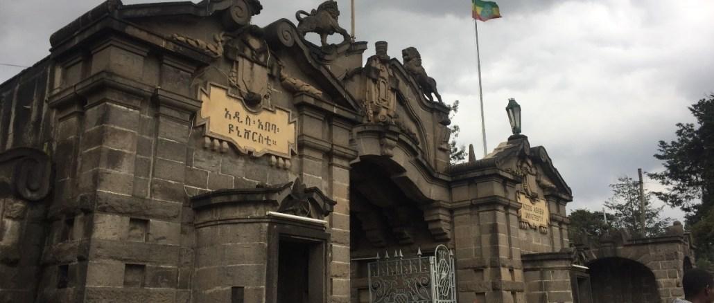 Addis Ababa University entrance