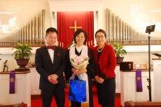 남,여선교회장님과 목사님