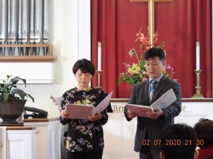 강 진영 은주집사님..헌금특송