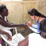 제1차 2015 도미니카 선교 밧데이 지역