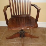 Home Office Refinishing An Antique Desk Chair One Home Made