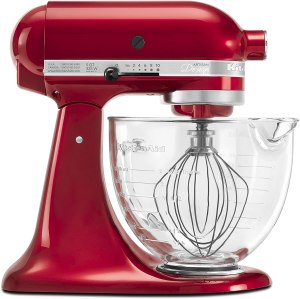KitchenAid Artisan Design Series with Glass Bowl