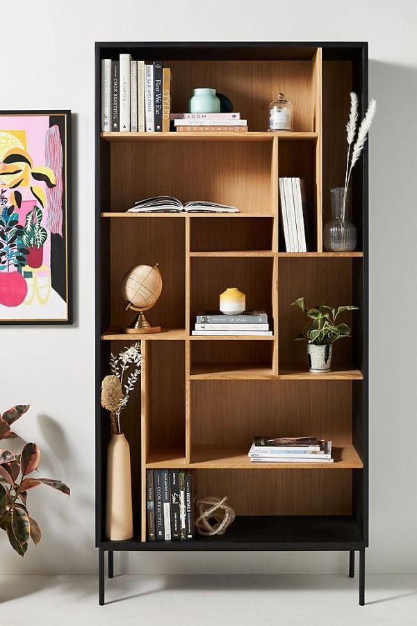 Oak Blackbird Bookshelf
