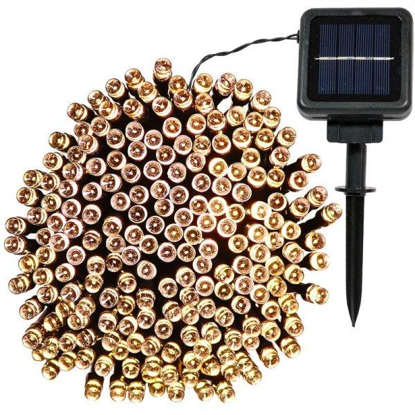 Santorini 68' Outdoor Solar Powered String Light