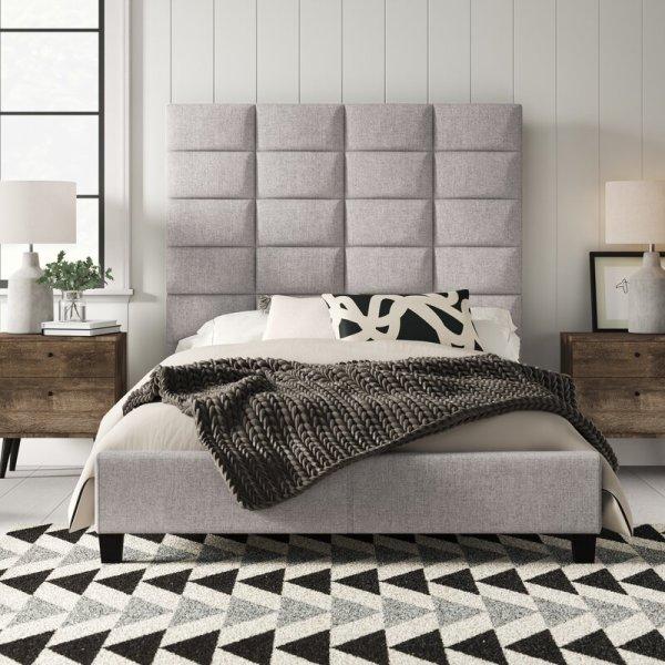 Full Tatum Upholstered Panel Bed