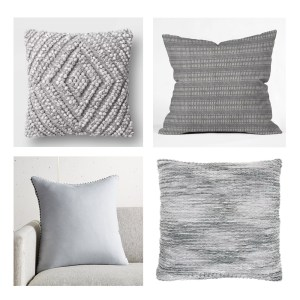 Gray-Throw-Pillows