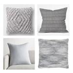Gray-Throw-Pillows