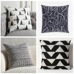 accent-pillows-B&W