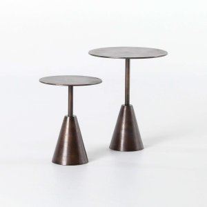 Frisco End Table Set of 2 - Antique Rust
