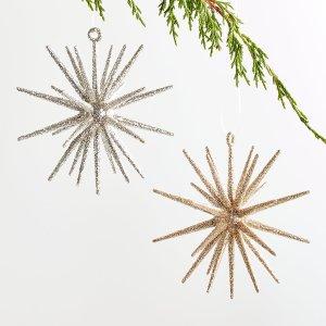glitter-3d-star-ornaments