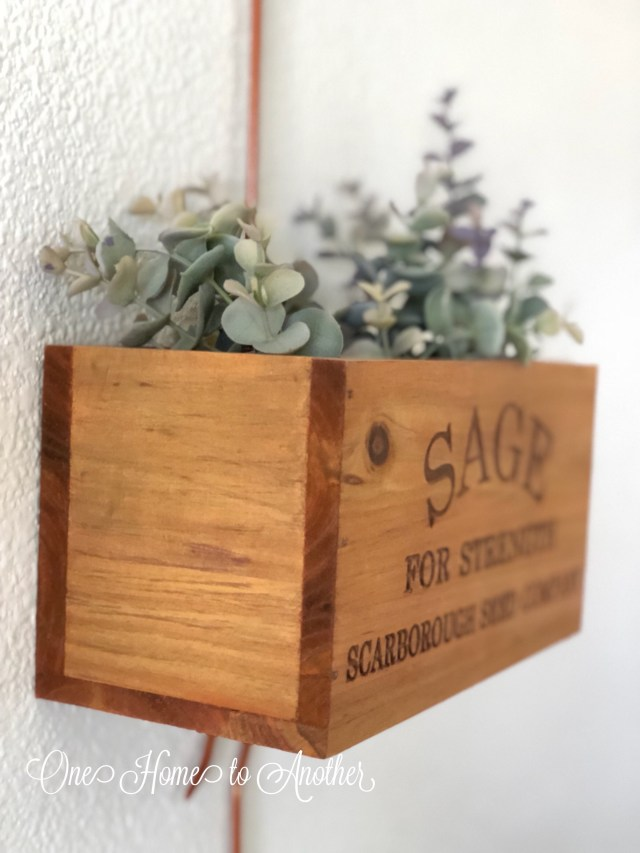 fall home tour, fall, fall decor, herb hanging planters