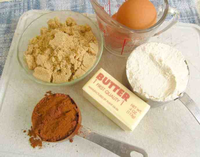 Chocolate-Torte-ingredients
