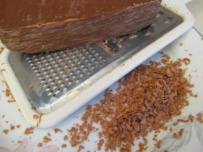 Grating Chocolate