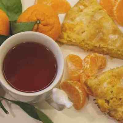 Mandarin Orange Scones
